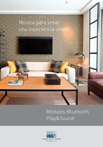 Catálogo módulos Play&Sound EGi